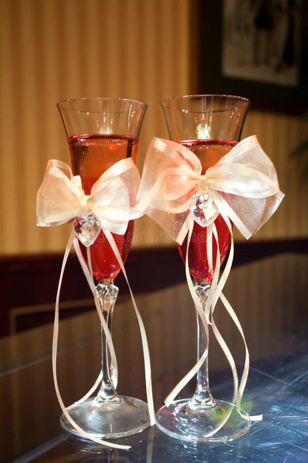Vetro di Champagne immagini stock
