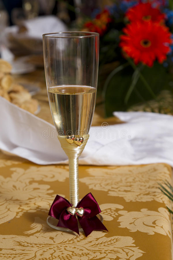 Vetro di Champagne fotografie stock libere da diritti