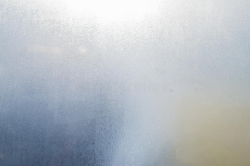 Vetro di finestra della nebbia fotografia stock libera da diritti