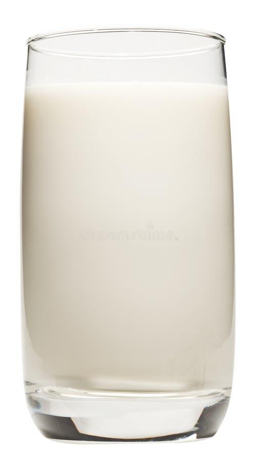 Vetro di latte. fotografie stock libere da diritti