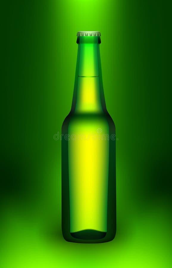 Vetro di vettore di birra illustrazione di stock
