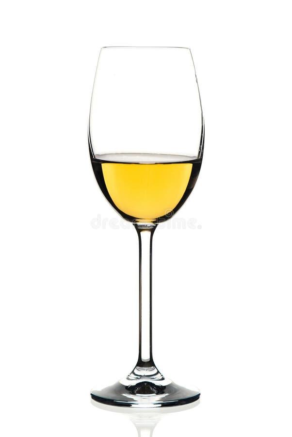 Vetro di vino bianco immagine stock libera da diritti