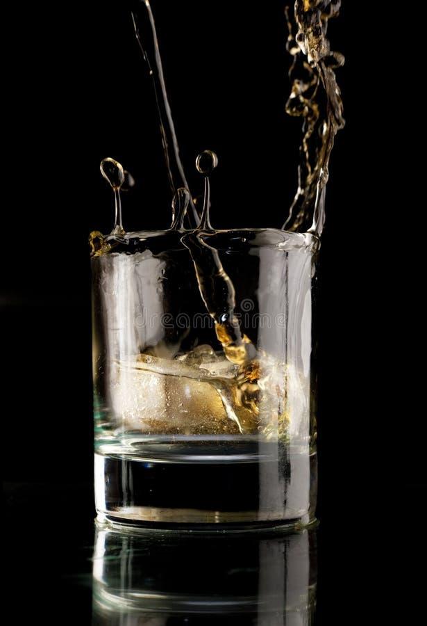 Vetro di whisky. immagini stock libere da diritti