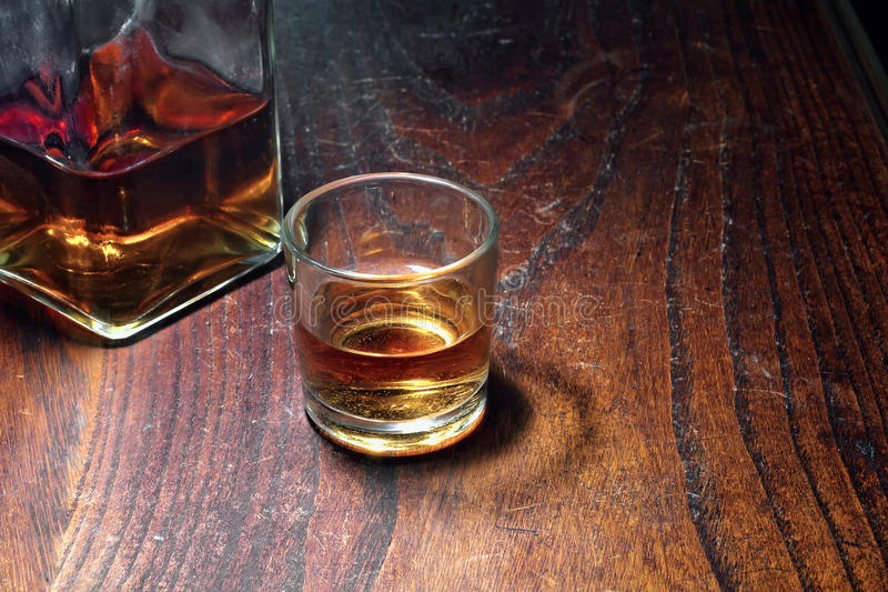 Vetro di whisky immagine stock libera da diritti