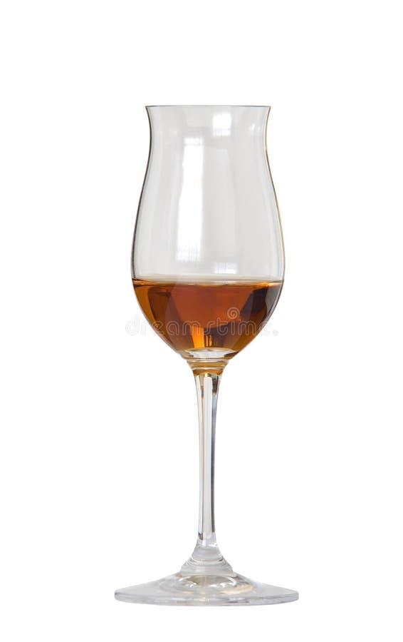 Vetro di whisky/cognac fotografie stock libere da diritti