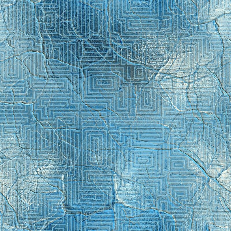 Vetro incrinato illustrazione vettoriale