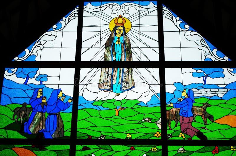 Vetro macchiato di Jesus immagini stock libere da diritti