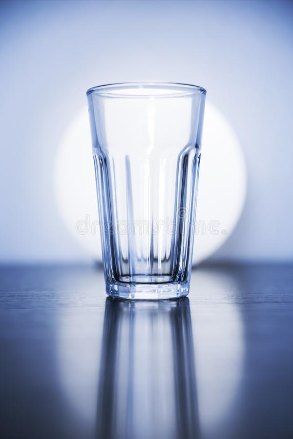 vetro vuoto tipico fotografie stock