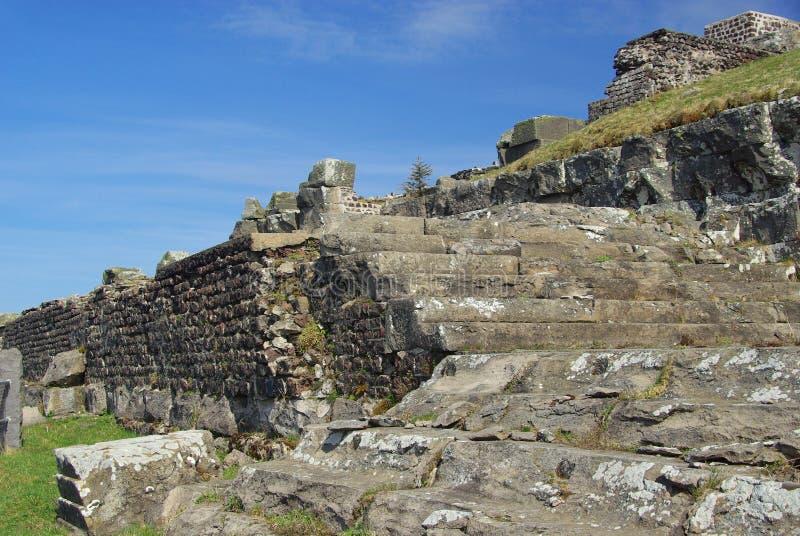Vetta del Puy de Dome immagine stock libera da diritti