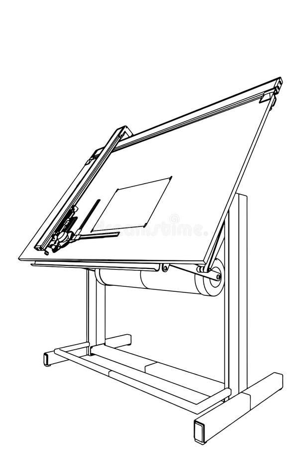 Vettore 03 della Tabella di illustrazione illustrazione vettoriale