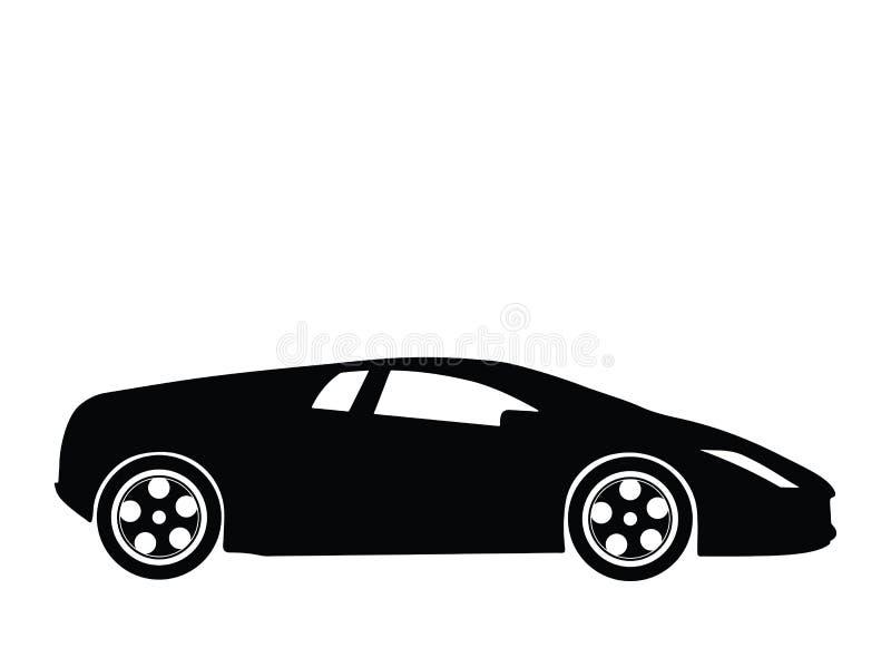 Vettore 7 dell'automobile sportiva illustrazione di stock