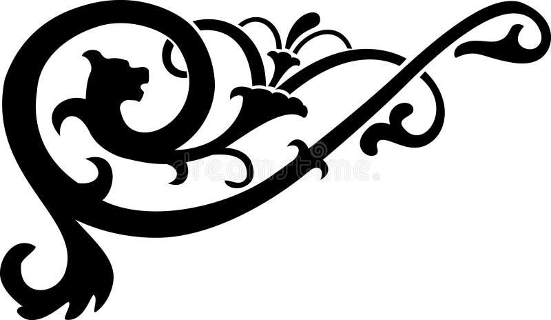 Download Vettore Astratto Di Calligrafia Illustrazione Vettoriale - Illustrazione di curva, lusso: 3878411