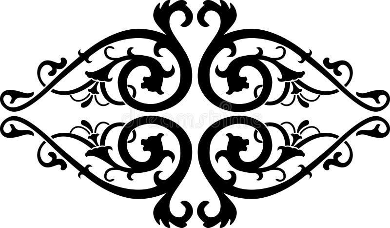 Download Vettore Astratto Di Calligrafia Illustrazione Vettoriale - Illustrazione di bello, angolo: 3878438