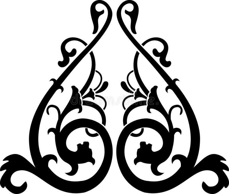 Download Vettore Astratto Di Calligrafia Illustrazione Vettoriale - Illustrazione di gotico, disegno: 3878445