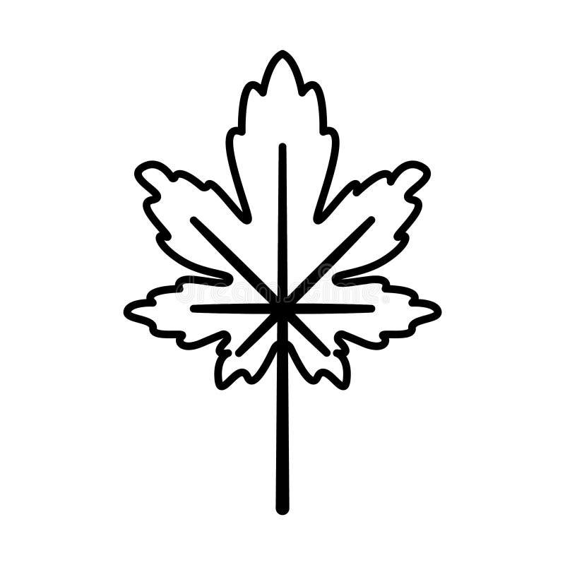 Vettore - Autumn Leaves royalty illustrazione gratis