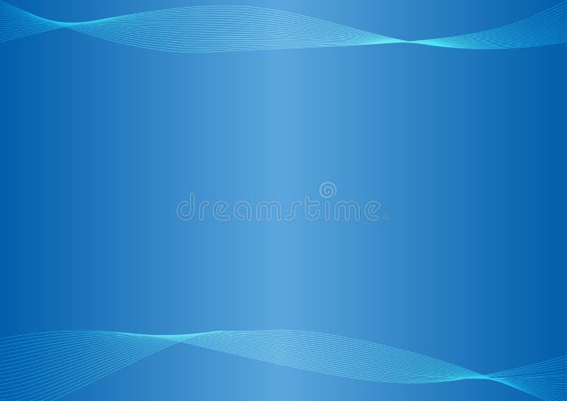 Vettore blu-chiaro, blu astratto del fondo immagini stock