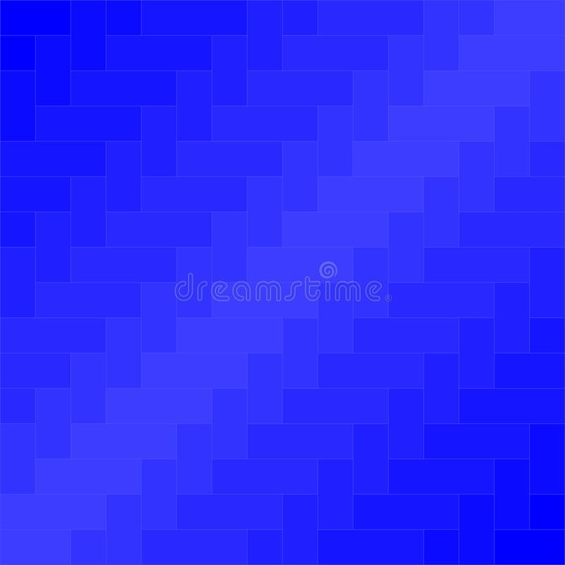 Vettore blu del fondo del modello del tessuto illustrazione vettoriale