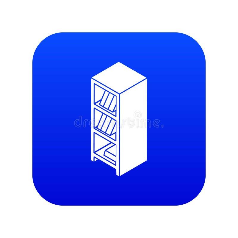 Vettore blu dell'icona del guardaroba dell'archivio royalty illustrazione gratis