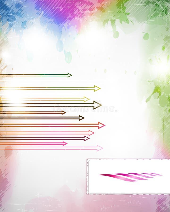 Vettore colorato illustrazione di stock