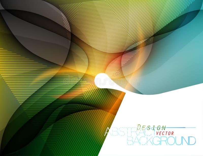 Vettore colorato di progettazione di forma illustrazione vettoriale