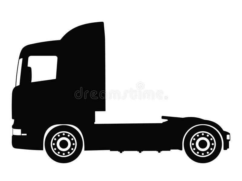 Vettore del camion illustrazione di stock