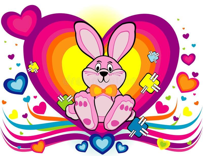 Vettore del coniglio del fumetto royalty illustrazione gratis