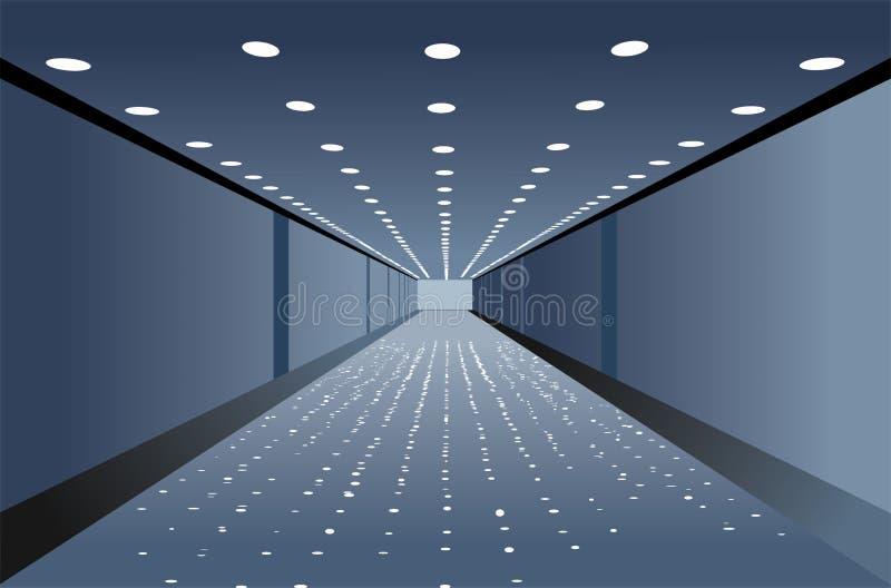 Vettore del corridoio illustrazione vettoriale