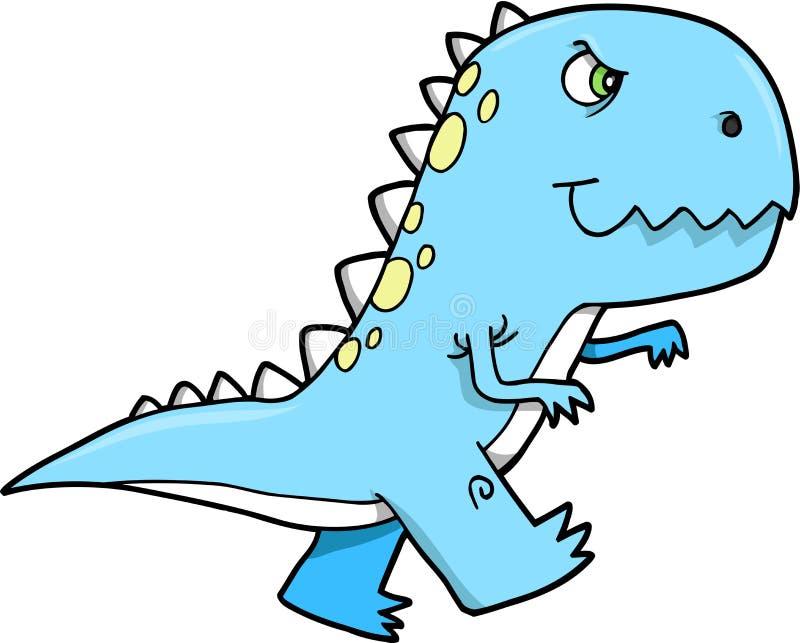 Vettore del dinosauro di T-rex illustrazione di stock