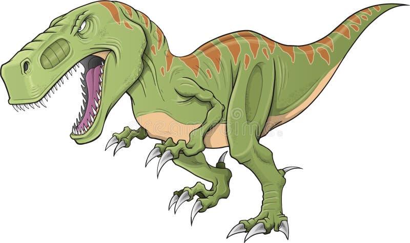 Vettore del dinosauro di tirannosauro illustrazione di stock