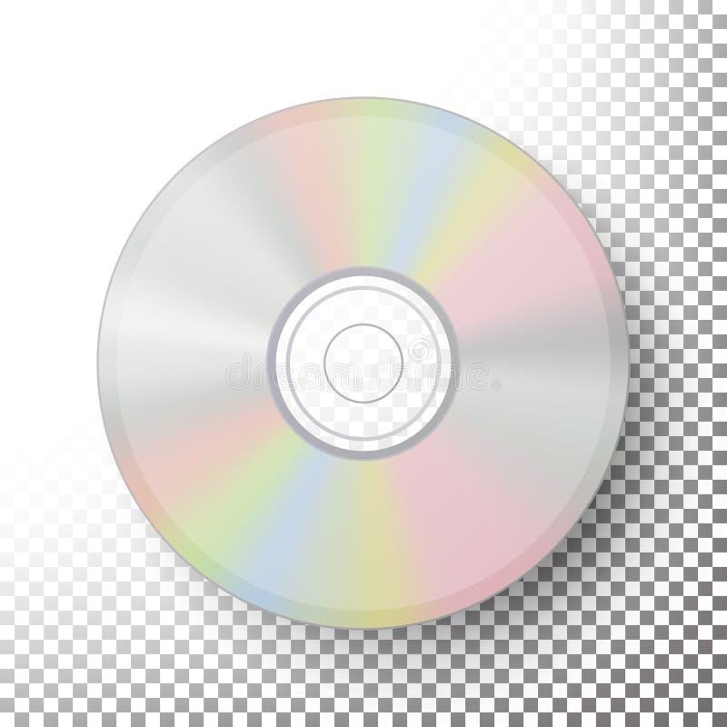 Vettore del disco di DVD illustrazione vettoriale