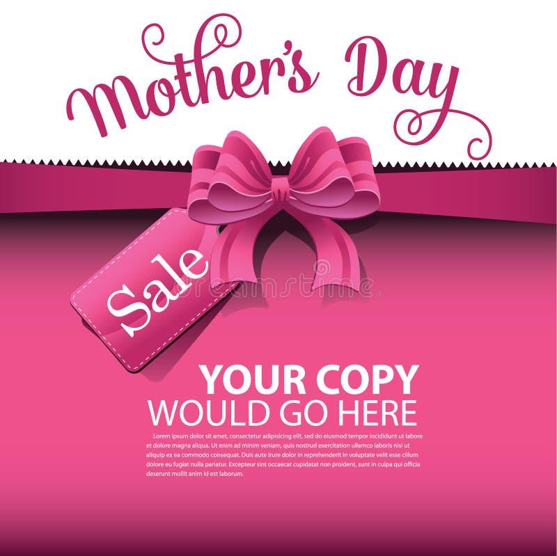 Vettore del fondo ENV 10 di vendita di giorno di madri royalty illustrazione gratis