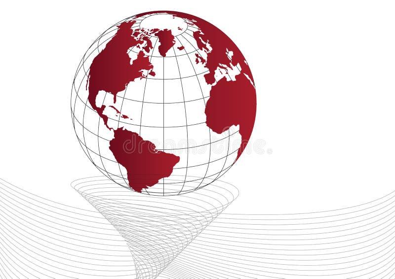 Vettore del globo royalty illustrazione gratis