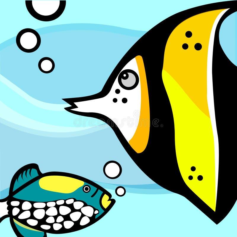 Vettore del grafico dei pesci royalty illustrazione gratis