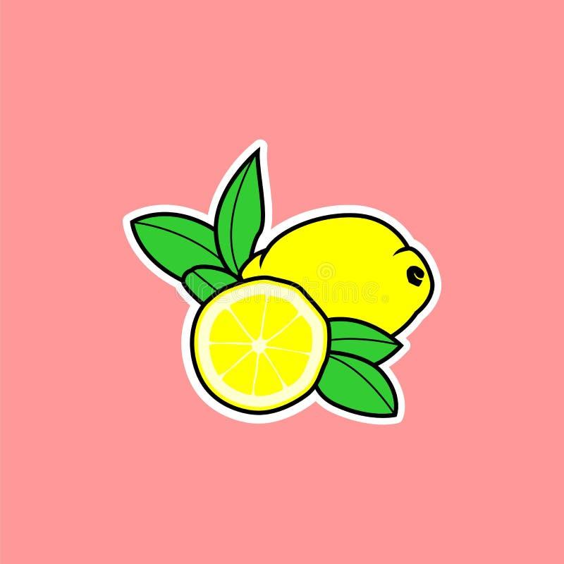 Vettore del limone fotografia stock