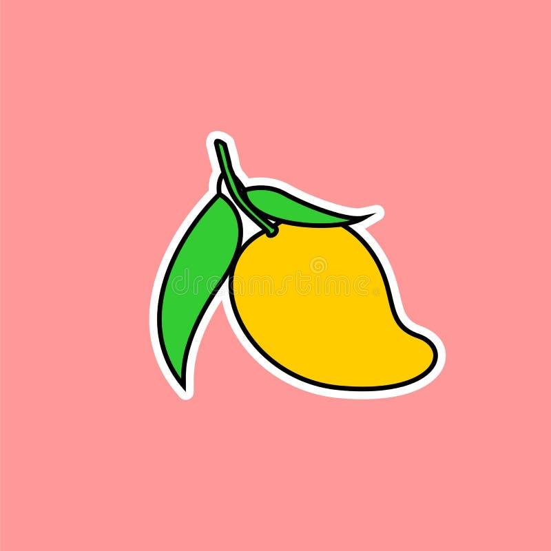 Vettore del mango immagini stock libere da diritti