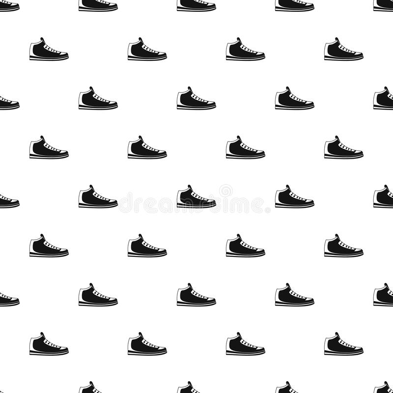 Vettore del modello delle scarpe da tennis senza cuciture illustrazione vettoriale