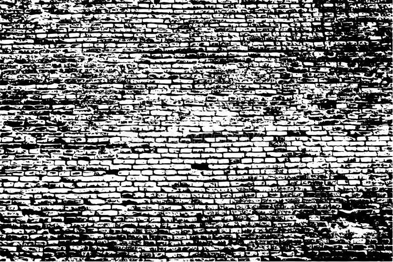 Vettore del muro di mattoni illustrazione di stock