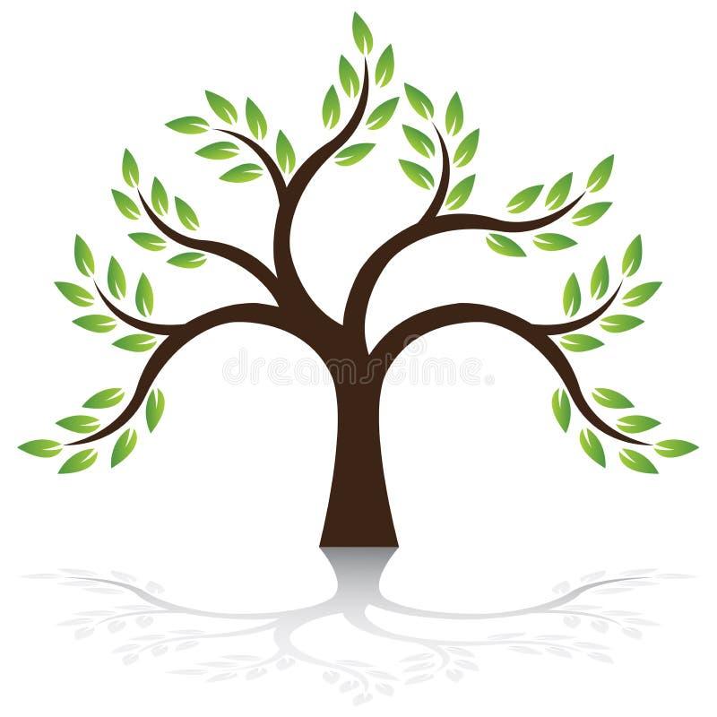 Vettore dell'albero royalty illustrazione gratis