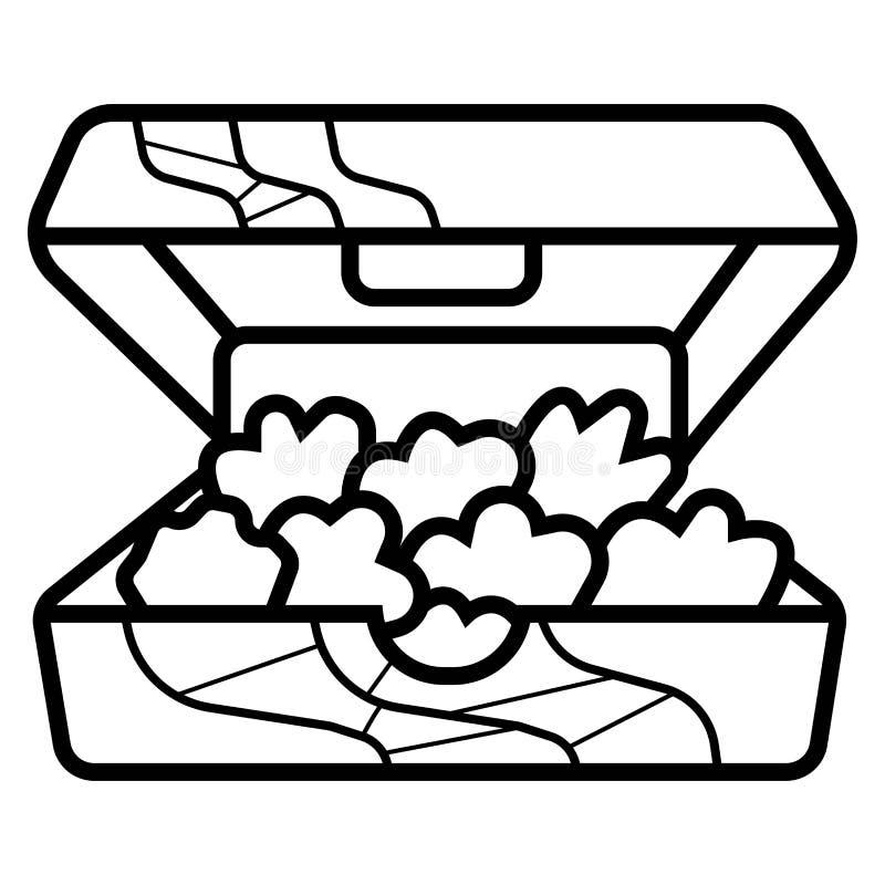 Vettore dell'icona degli alimenti a rapida preparazione illustrazione di stock