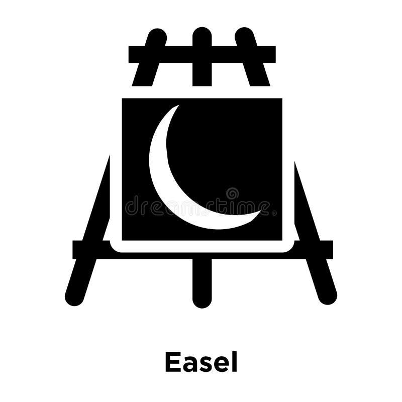 Vettore dell'icona del cavalletto isolato su fondo bianco, concetto di logo di royalty illustrazione gratis