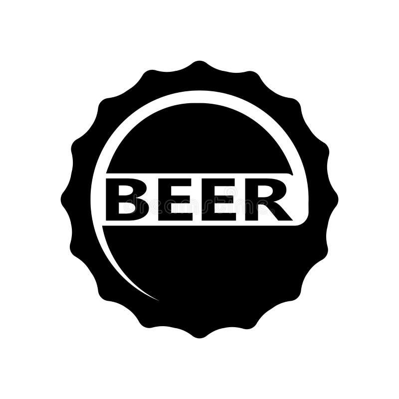 Vettore dell'icona del pesce essiccato isolato su fondo bianco, segno del pesce essiccato, simboli della birra royalty illustrazione gratis