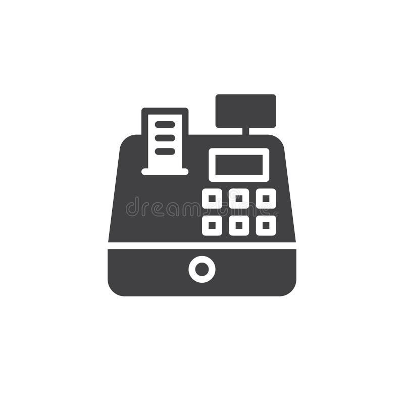 Vettore dell'icona del registratore di cassa royalty illustrazione gratis