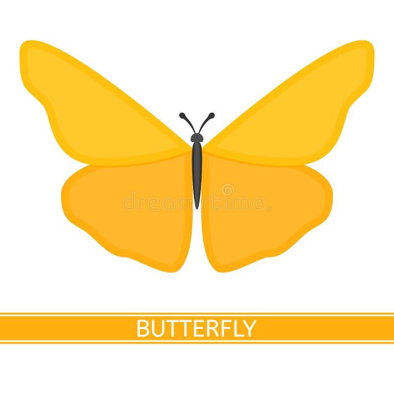 Vettore dell'icona della farfalla royalty illustrazione gratis