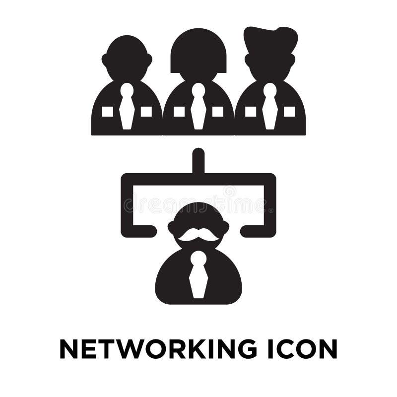 Vettore dell'icona della rete isolato su fondo bianco, concep di logo royalty illustrazione gratis