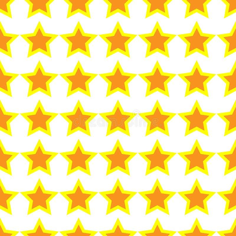 Vettore dell'icona della stella Rango classico Progettazione senza cuciture della stella del modello Progettazione favorita piana illustrazione di stock