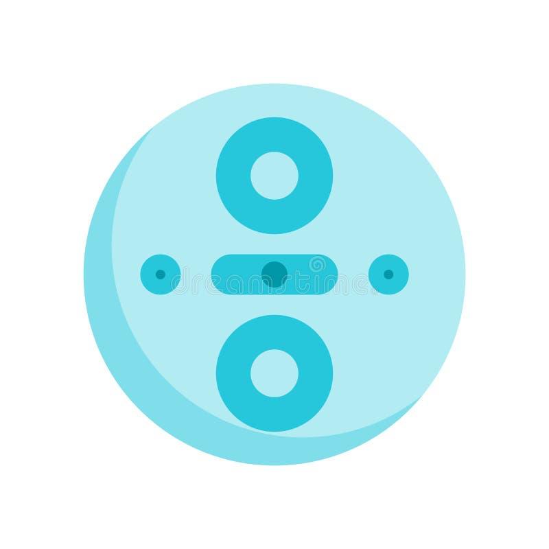 Vettore dell'icona di conoscenza isolato su fondo bianco, si di conoscenza illustrazione vettoriale