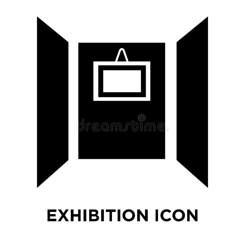 Vettore dell'icona di mostra isolato su fondo bianco, concep di logo illustrazione vettoriale