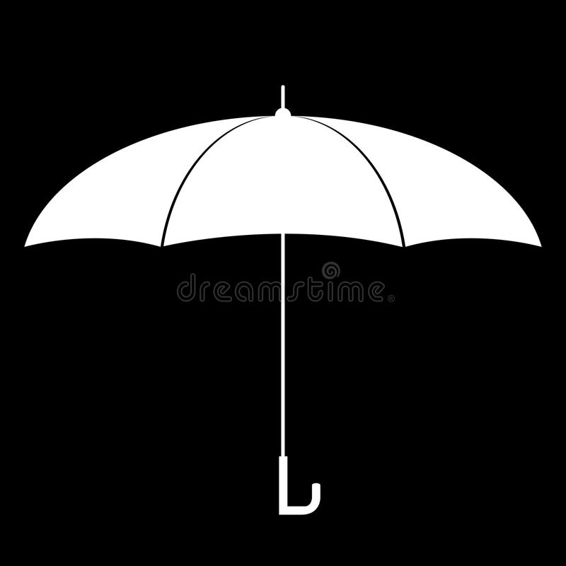 Vettore dell'ombrello illustrazione vettoriale