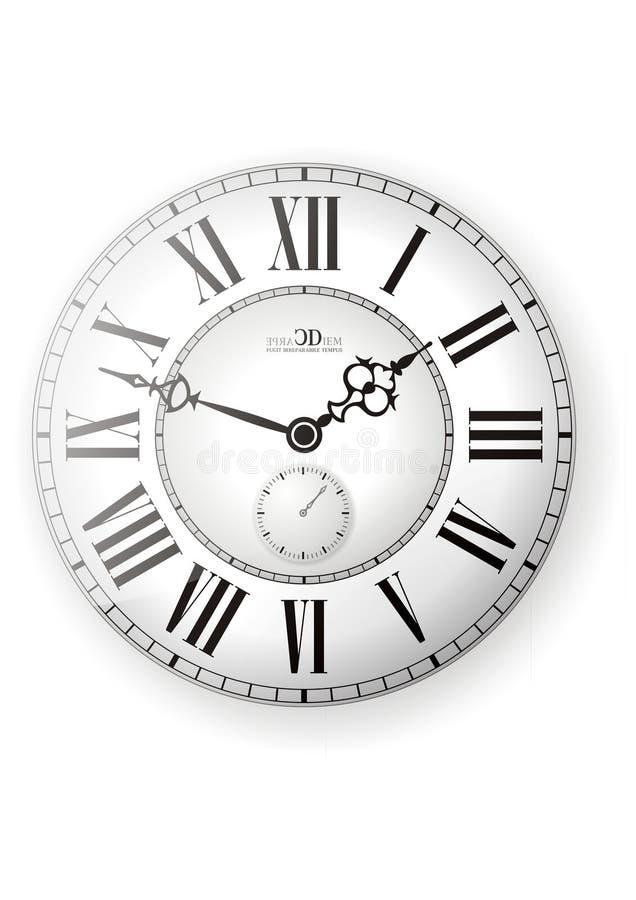 Vettore dell'orologio royalty illustrazione gratis