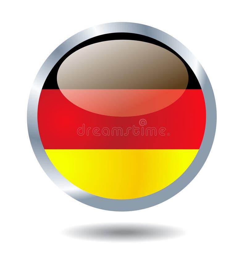 Vettore della bandiera della Germania royalty illustrazione gratis